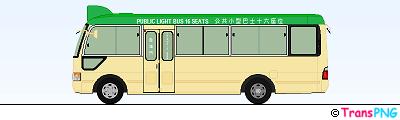 [SG034] 香港專線小巴 SG034